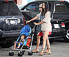 Photo Slide of Pregnant Camila Alves Shopping With Levi and Kay McConaughey
