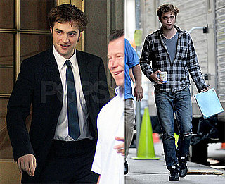 Photos of Robert Pattinson On the Set of Remember Me in NYC 2009-07-13 15:30:00