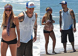 Photos of Pregnant Nicole Richie in a Bikini