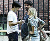 Photo Slide of Drew Barrymore and Justin Long Filming Going the Distance in NYC