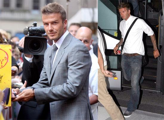Photos of David Beckham in NYC