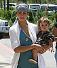 Photos of Pregnant Camila Alves, Matthew McConaughey Running, Levi McConaughey