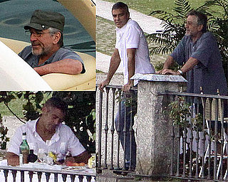 Photos of George Clooney and Robert De Niro in Lake Como