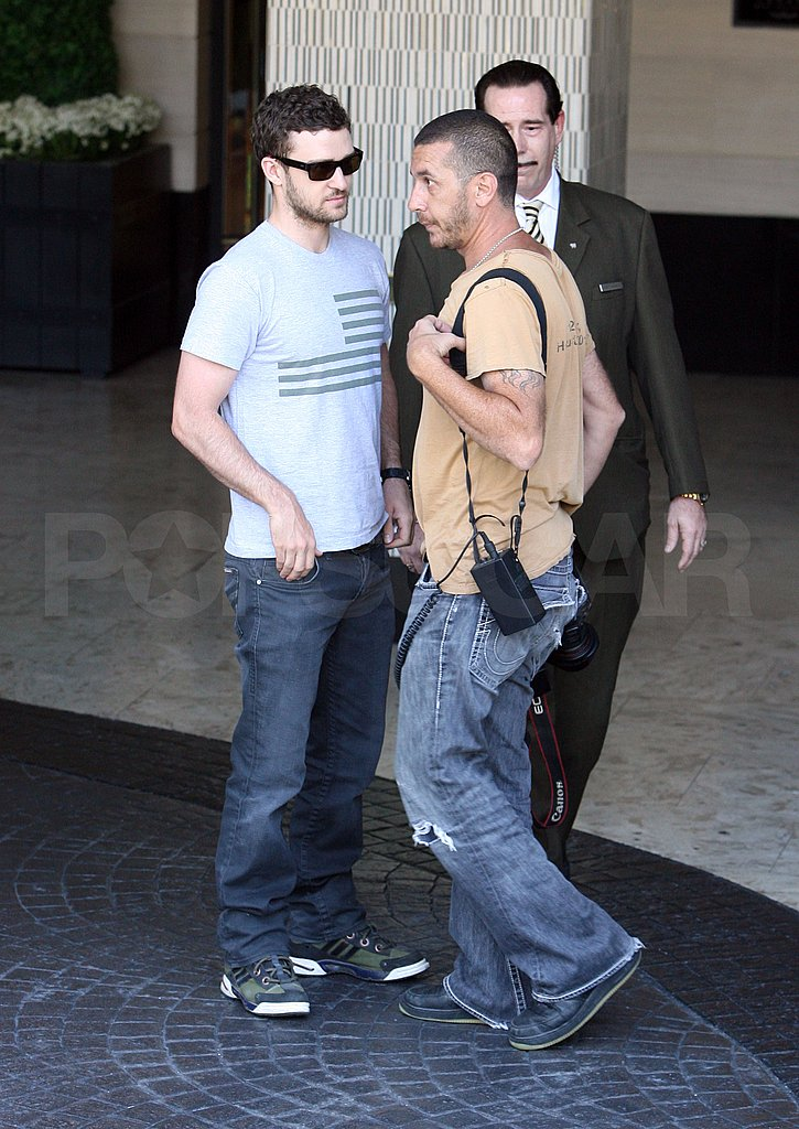 Photos of Justin Timberlake in LA