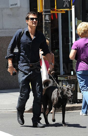 Photos of Orlando Bloom and Dog