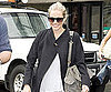 Slide Photo of Sienna Miller Arriving at Heathrow, Back from Sydney