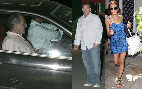 Photos of Lindsay Lohan in LA While Michael Lohan Hangs Out With Jon Gosselin