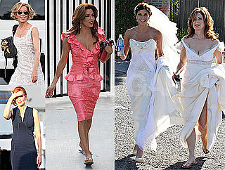 Photos of Eva Longoria, Marcia Cross, Teri Hatcher, Felicity Huffman, Dana Delany on the LA Set of Desperate Housewives