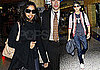 Photos of Freida Pinto and Dev Patel in NYC