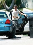 Photos of Shia LaBeouf on a Walk