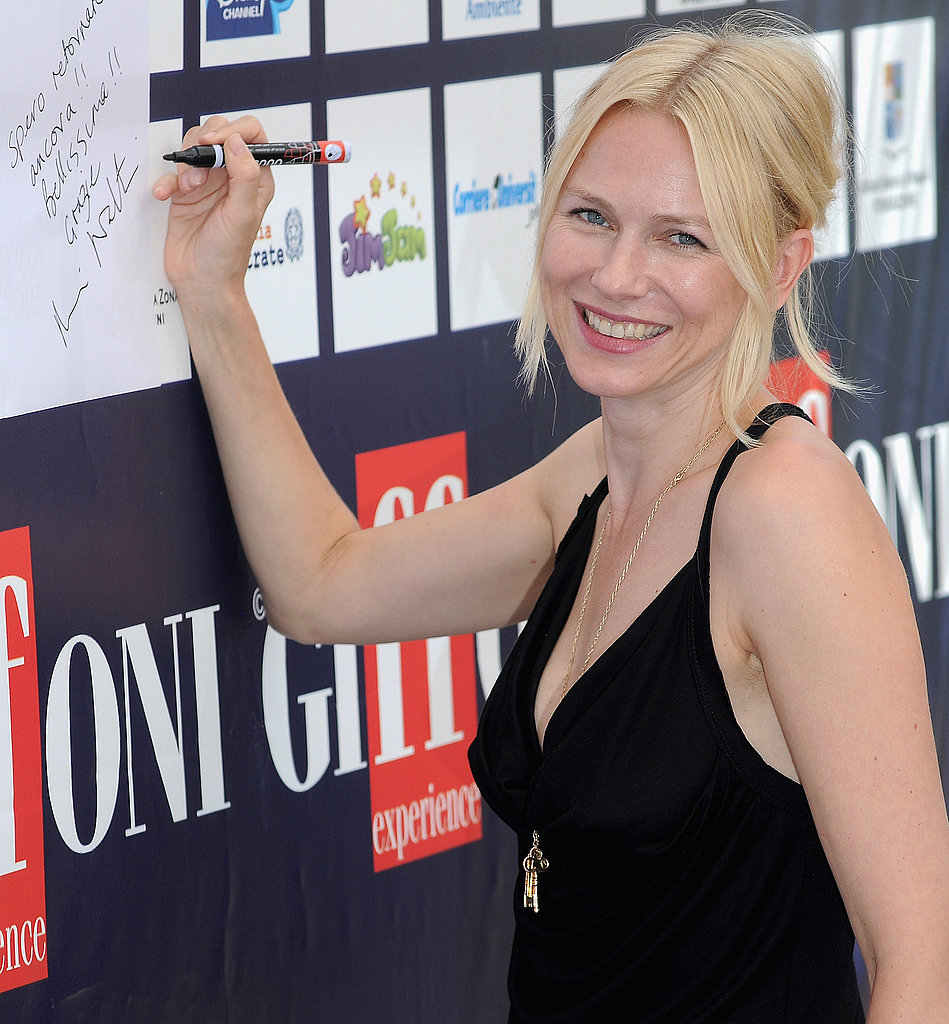 Photos of Naomi Watts and Liev Schriber in Italy