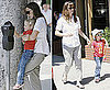 Photos of Jennifer Garner and Violet Affleck in LA 2009-07-20 15:00:55