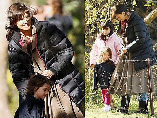 Photos of Katie Holmes With Suri Cruise in Australia
