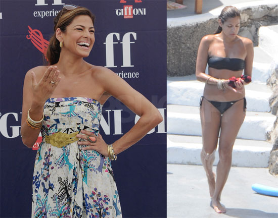 Photos of Eva Mendes in a Bikini