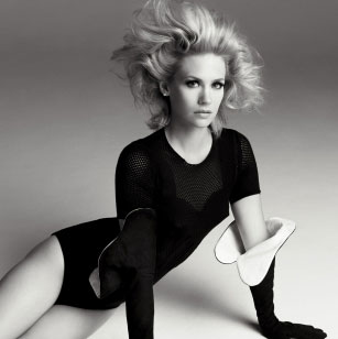 Photos of January Jones in Interview