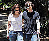 Photo Slide of Mandy Moore and Ryan Adams Walking Their Dog in LA