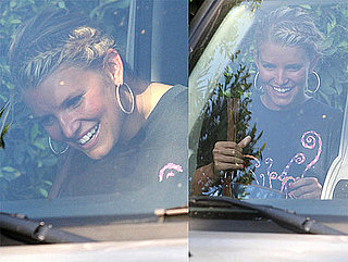 Photos of Jessica Simpson Smiling After Breakup With Tony Romo