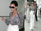 Photos of Victoria Beckham at Heathrow
