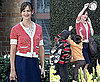 Photos of Jennifer Garner on the Set of Valentine's Day