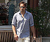 Photo Slide of David Duchovny Leaving the Brentwood Country Mart
