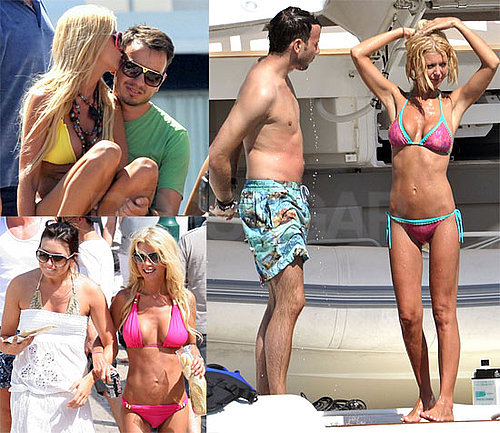 Bikini Photos of Tara Reid with Her Boyfriend in St. Tropez