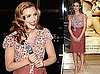 Photos of Scarlett Johansson Promoting Dolce & Gabbana in London