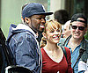 Photo Slide of Rachel McAdams and 50 Cent Filming Morning Glory in NYC