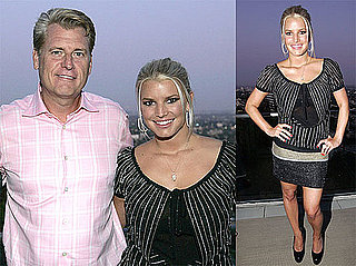 Photos of Jessica Simpson and Joe Simpson at An-Ya Listening Party, Jess Gifted $10,000 Diamond Ring