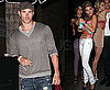 Photos of Kellan Lutz and AnnaLynne McCord at Social