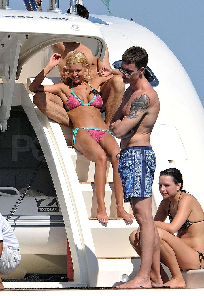 Photos of Tara Reid in Bikini with Boyfriend in St. Tropez