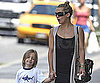 Slide Photo of Kate Hudson, Ryder Robinson Walking to Pet Store in NYC