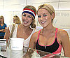 Slide Photo of Holly Montag, Stephanie Pratt at Frozen Yogurt in LA