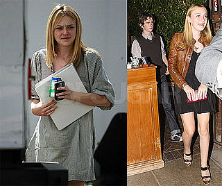 Photos of Dakota Fanning on a Date With Freddie Highmore at Il Cielo