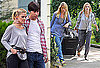 Photos of Drew Barrymore, Justin Long, and Christina Applegate on Set