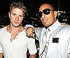 Photo Slide of Ryan Phillippe and Ludacris Partying Together in LA