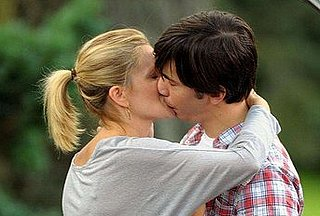 Photos of Drew Barrymore And Justin Long Filming Going the Distance
