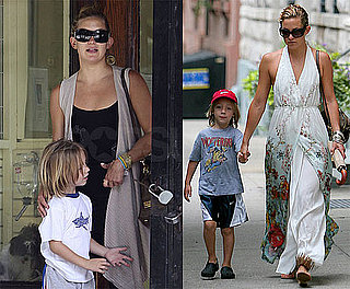 Photos of Kate Hudson With Son Ryder Robinson, Who Got a Haircut, in NYC