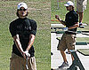 Photos of Gabriel Aubry at the Driving Range