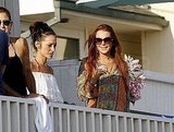 Photos of Lindsay Lohan in Malibu, Jon Gosselin and Michael Lohan in The Hamptons
