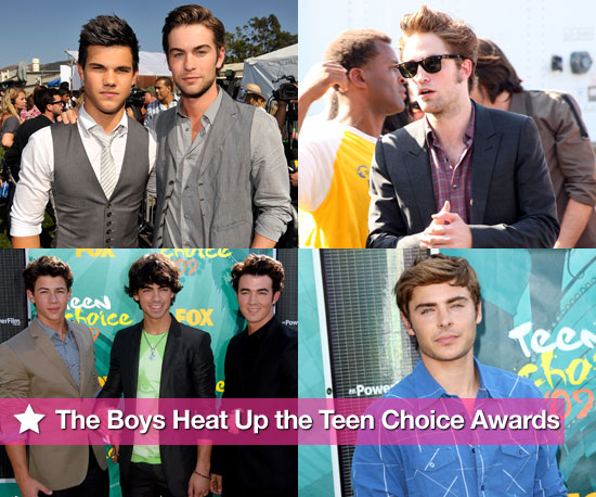 The Boys Heat Up the Teen Choice Awards