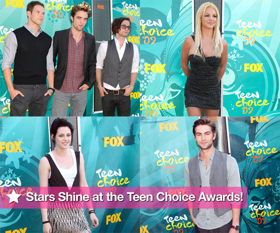 Stars Shine at the Teen Choice Awards