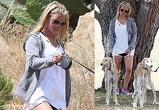 Photos of Jessica Simpson Hiking in LA With Ken Paves; Talking About Her New Lingerie Line