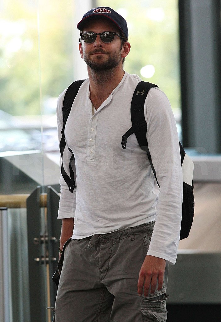Photos of Bradley Cooper at Vancouver Airport