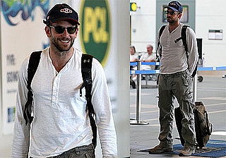 Photos of Bradley Cooper in Vancouver Airport, His Rep Denies He's Dating Jennifer Aniston