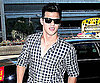 Slide Photo of Taylor Lautner Arriving at LAX