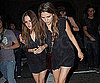 Slide Photo of Rachel Bilson Matching Friend in Black Leaving Bardot in LA