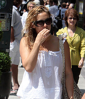 Photos of Kate Hudson, Alex Rodriguez Shopping in Toronto