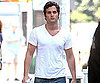 Photo Slide of Penn Badgley Filming Gossip Girl in NYC