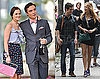 Photos of Blake Lively, Leighton Meester, Sebastian Stan, Penn Badgley Filming Gossip Girl in NYC