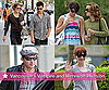 Photos of Eclipse's Taylor Lautner, Ashley Greene, Peter Facinelli, Nikki Reed, Bryce Dallas Howard in Vancouver Working Out
